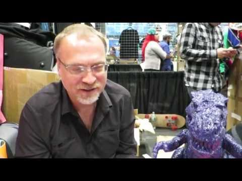 Interview with James Groman at New York Comic Con 2014