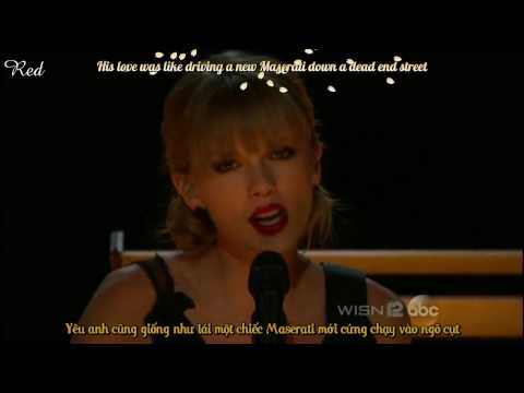 [Kara + Vietsub] RED - Taylor Swift ft. Alison Krauss & Vince Gill ( CMA Awards 2013)