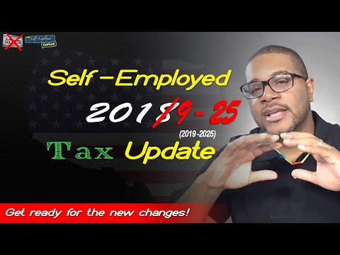 2018 Tax Update for The Self Employed | A Brief Digestible Summary of the New Tax Laws