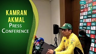 PSL 2017 Playoff3: Kamran Akmal Press Conference