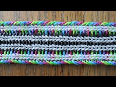 Rainbow Loom- Doug Bracelet (Original Design)