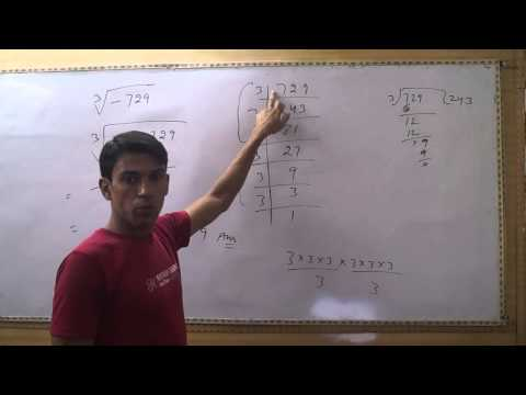 How to Find Cube Root of Negative Number