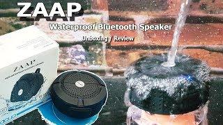Bluetooth Speaker Unboxing / Review    ZAAP Aqua All Weather speaker