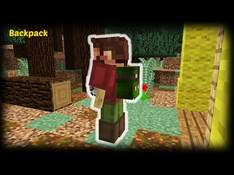 Minecraft - How to make a Backpack