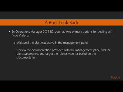 Advanced System Center 2016 Operations Manager : Alerts by Management Pack | packtpub.com