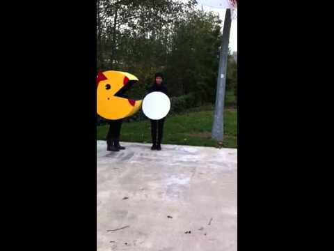 Halloween PAC Man costumes
