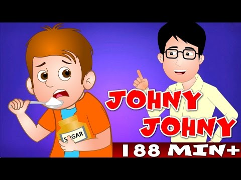 Johny Johny Yes Papa and Many More | Top 100 Popular Nursery Rhyme Collection