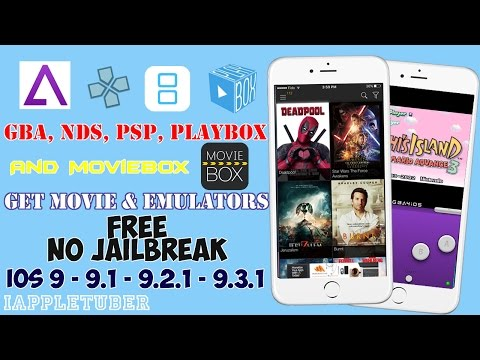 How To Get MovieBox, PlayBox, GBA4iOS , NDS4iOS & PPSSPP FREE iOS 9-9.1-9.2.1-9.3.1 (No Jailbreak)