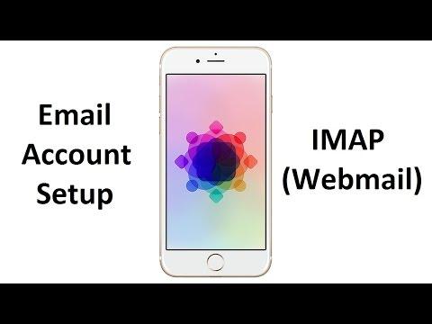 How to setup IMAP (Webmail) account - iPhone/iPad