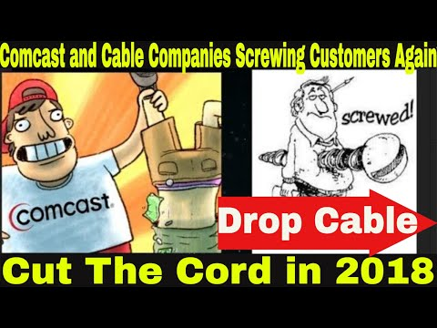 Comcast Cable attacking customers again | Cut The Cord | More Reason to join a stream service.