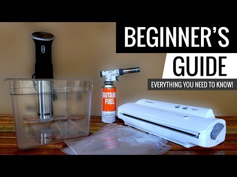 Sous Vide Beginner's Guide - Everything you need to know!