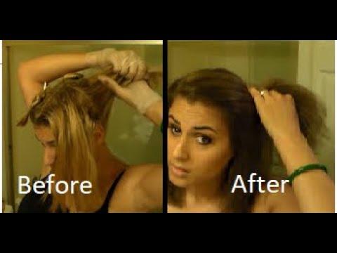 Dyeing my hair! - Loreal Paris # 6 Light Brown