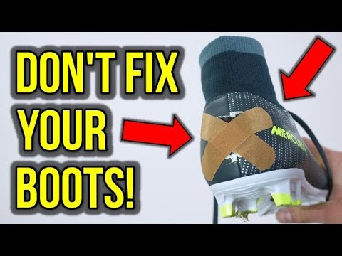 DO NOT FIX YOUR BROKEN FOOTBALL BOOTS! *HOW TO GET NEW ONES FOR FREE*