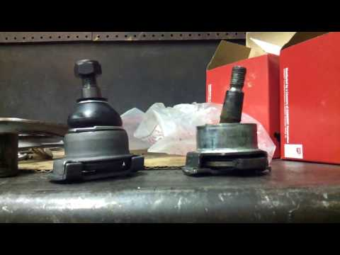 How to remove bmw lower outer ball joint