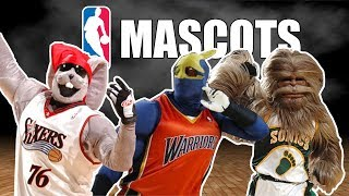 All NBA Mascots That Don't Exist Anymore