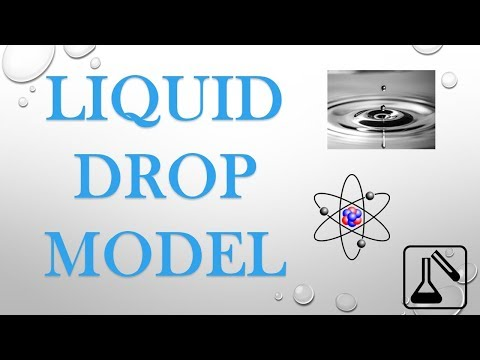 LIQUID DROP MODEL | NUCLEAR CHEMISTRY