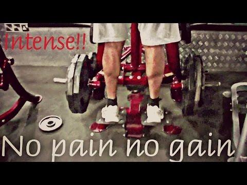 Super Intense,High Volume Calf workout