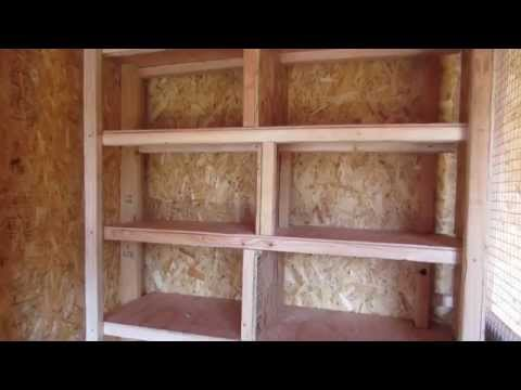 How To Build A Pigeon Coop or loft (part 4)