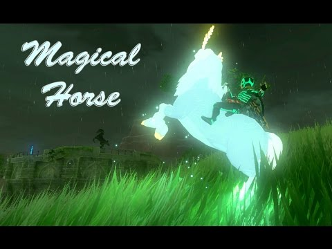 Zelda Breath of the Wild - EPIC HORSE / unlimited Stamina