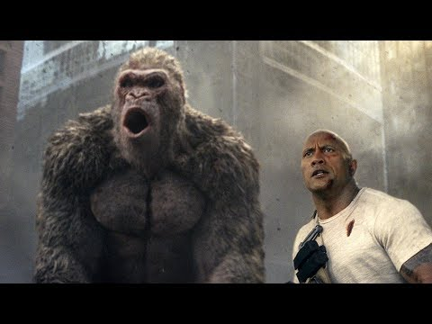 Movie Reviews: Big beasts not quite enough in 'Rampage'