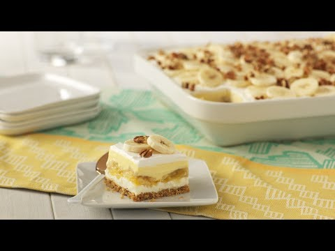 Banana Split Cake | JELL-O