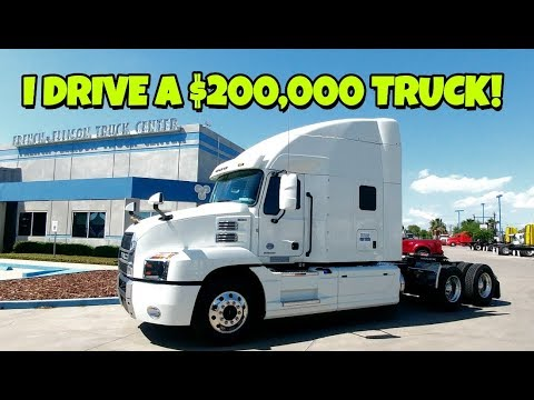 I drive a $200,000+ 2018 MACK Anthem Semi truck! - PakVim net HD