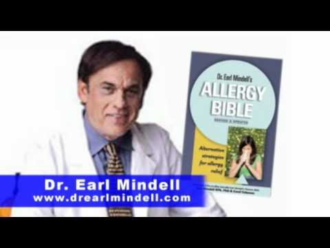 Dr. Earl Mindell Explains How to Cure Allergies Without Drugs