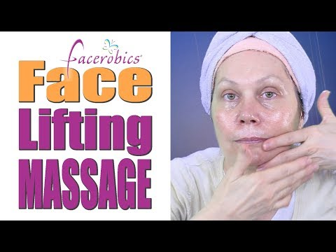 Make My Face Look Younger w/ Face Lift Massage to Tighten Face and Saggy Jowls | Face Massage