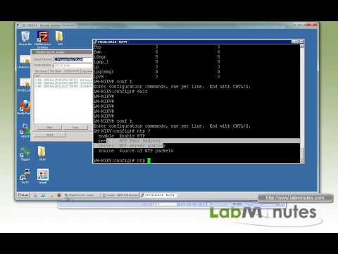 LabMinutes# RS0024 - Cisco Nexus 1000V General Config, Syslog, NTP, and SNMP