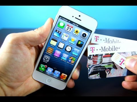 iPhone 5 Tmobile Unlock on iOS 6 - Official Verizon iPhone 5 6.0 GSM Unlocked for T-mobile & AT&T!