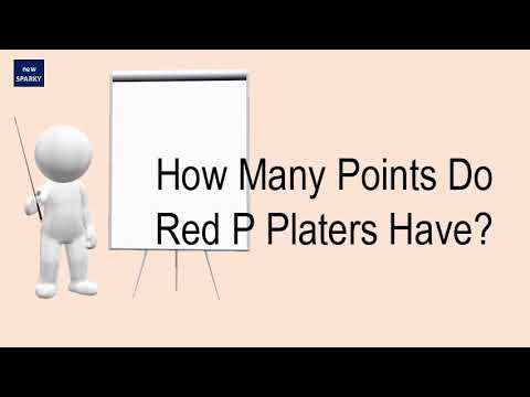 How Many Points Do Red P Platers Have?