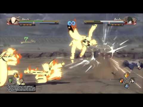 Naruto Shippuden Ultimate Ninja Storm 4: Kurama Mode Naruto Vs Eternal Mangekyou Sharingan Sasuke