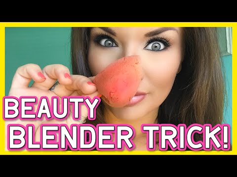 FASTEST, CHEAPEST WAY TO CLEAN YOUR BEAUTY BLENDER!