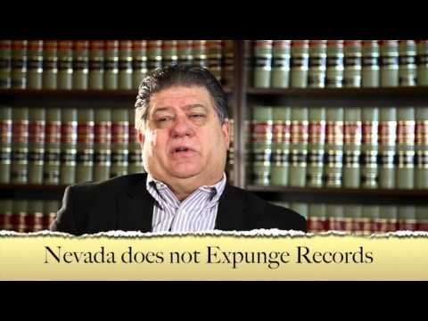 Sealing or Expunging Criminal Records in Nevada