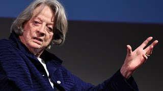 """In conversation with Maggie Smith: """"I led a perfectly normal life until Downton Abbey""""   BFI"""