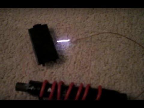 Homemade high voltage transformer