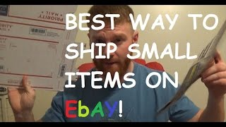 The BEST WAY to Ship Small Items on eBay!