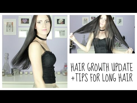 HAIR GROWTH UPDATE + TIPS FOR LONG HAIR