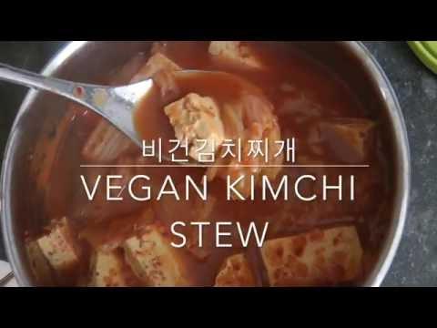 Vegan kimchi stew/비건 김치찌개