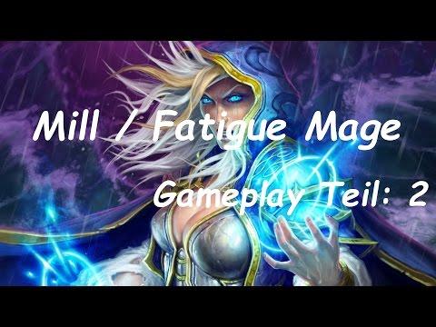 Hearthstone - Mill / Fatigue Mage Gameplay Teil:2 deutsch