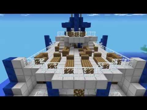 minecraft pe luxury yatch (with link)