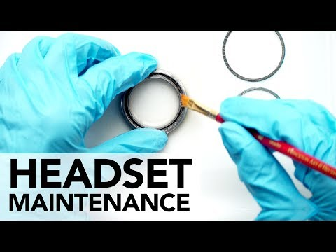 Headset maintenance how-to tutorial, from basic to advanced in 4K