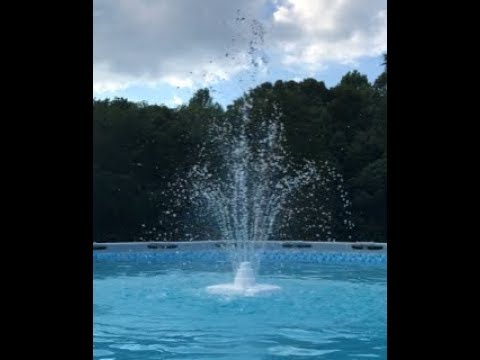 EASY! Fountain/Sprinkler for Intex/Coleman Pool