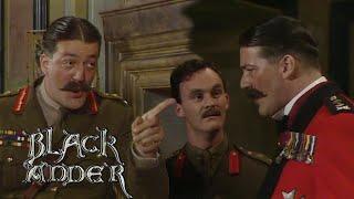 Stephen Fry's Best Bits: Melchett & Duke of Wellington | Blackadder | BBC Comedy Greats
