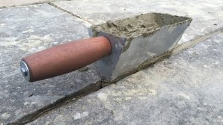 Homemade pointing tool.