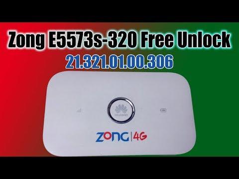 Free Zong E5573s-320 21.321.01.00.306 Unlock Without Open