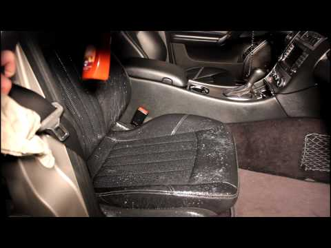 How To: Clean and Condition Leather Car Seats (C55 AMG)