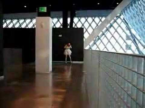 Seattle Library Performance Art