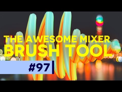 The Awesome Mixer Brush in Photoshop!
