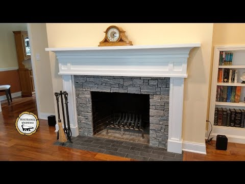 Woodworking : DIY Fireplace Mantel Surround // How-To Part 2